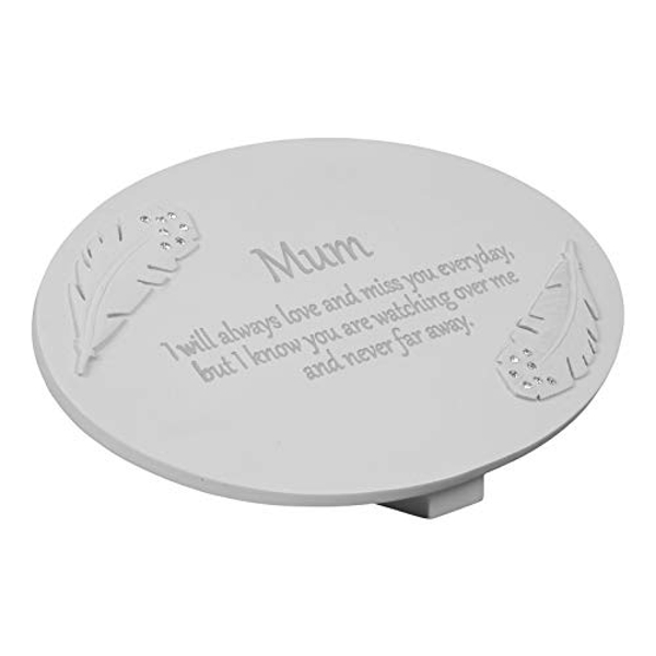 Thoughts of You Resin Memorial Plaque - Mum