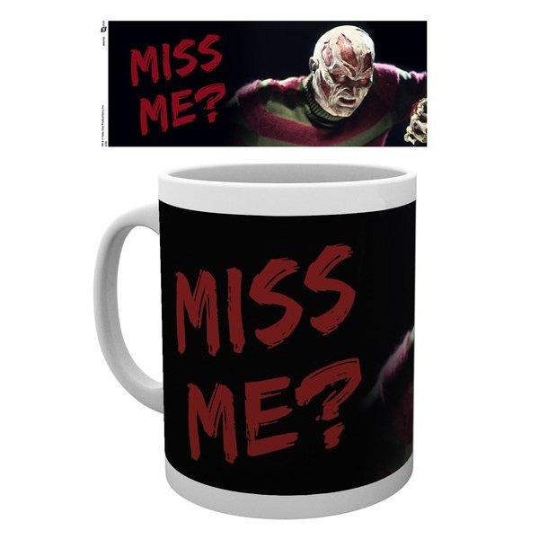 Nightmare On Elm Street Miss Me Mug