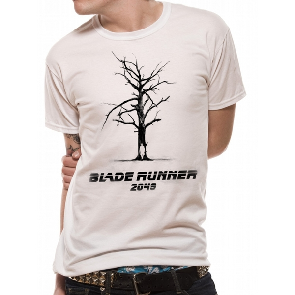 Blade Runner 2049 Tree Unisex Medium T-Shirt - White