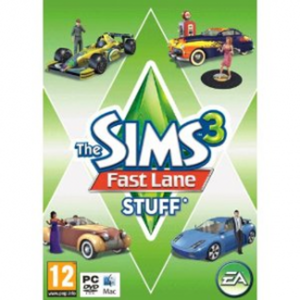 The Sims 3 Fast Lane Stuff Expansion Pack Game PC - Image 1