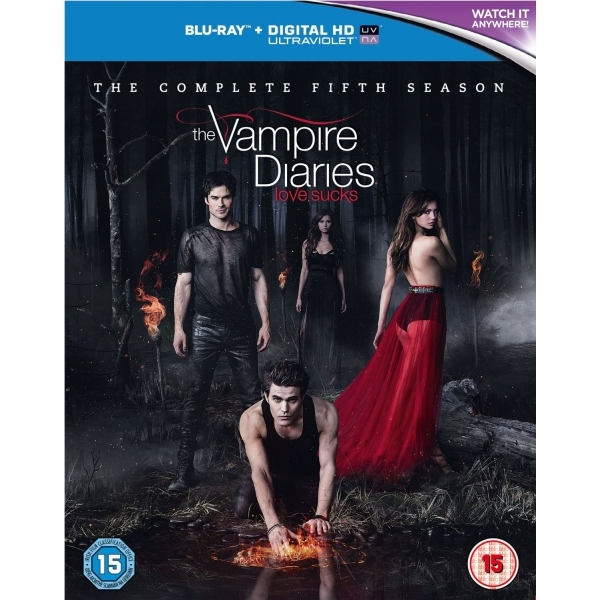 The Vampire Diaries Season 5 Blu-ray