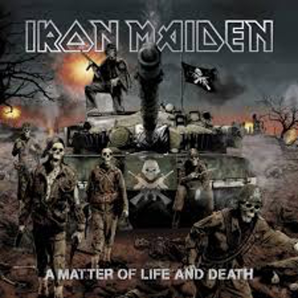 Iron Maiden – A Matter Of Life And Death Vinyl