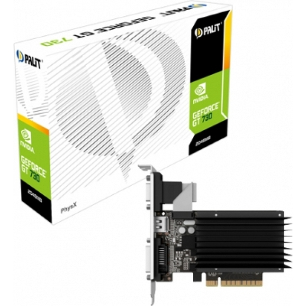 Image of Palit NEAT7300HD46-2080H GeForce GT 730 2GB GDDR3 graphics card