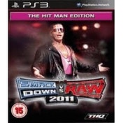 WWE Smackdown VS Raw 2011 Game The Hit Man Edition PS3