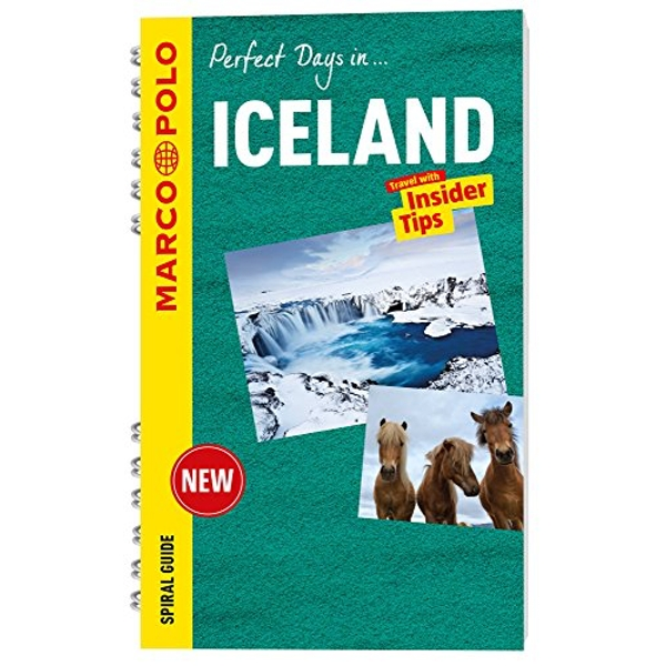 Iceland Marco Polo Travel Guide - with pull out map  Spiral bound 2016