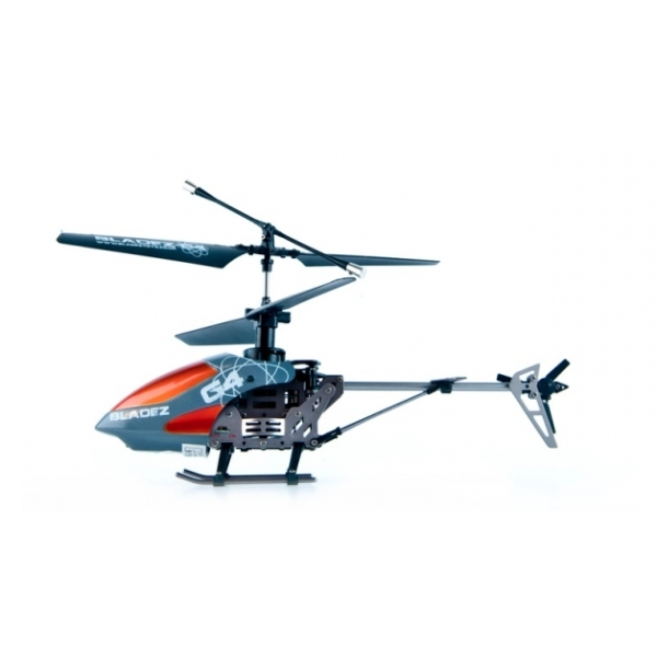 Bladez 4 Channel Gun Metal Remote Control Helicopter