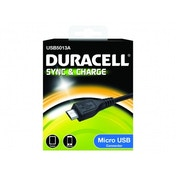 Duracell Sync and Charging Cable for Micro USB Device