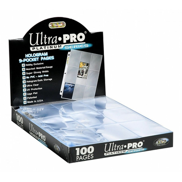 Ultra Pro 9 Pocket Page Box of 100