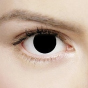 Blind Black 1 Day Halloween Coloured Contact Lenses (MesmerEyez XtremeEyez)