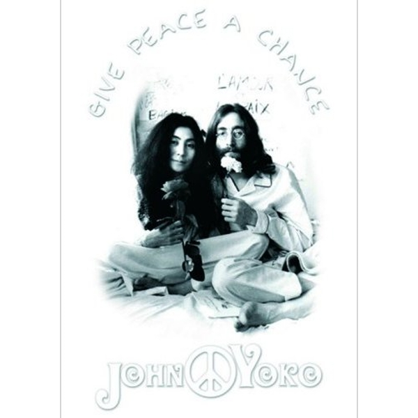 John Lennon - Give Peace a Chance Postcard