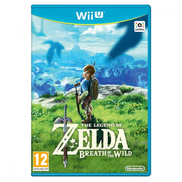 The Legend Of Zelda Breath Of The Wild Wii U Game