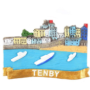 Gold Tenby Magnet Pack Of 12