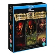 Pirates Of The Caribbean Trilogy Blu-ray