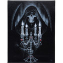 Small Candelabra Canvas Picture by Anne Stokes