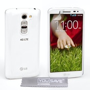 YouSave Accessories LG G2 Mini Hard Case - Crystal Clear