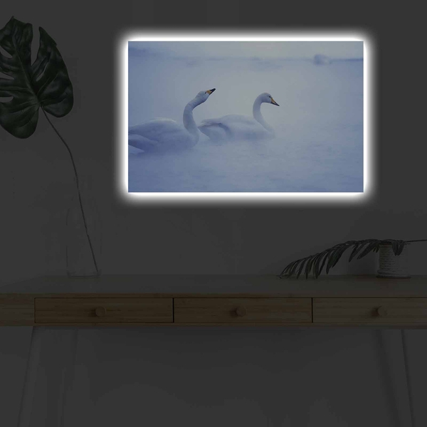 4570DHDACT-178 Multicolor Decorative Led Lighted Canvas Painting
