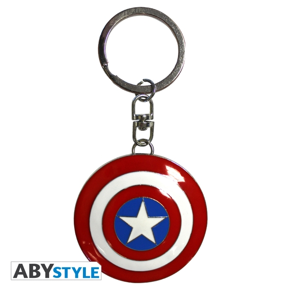 Marvel - Shield Captain America 3D Keychain - Image 1