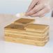 Bamboo Spice Salt & Pepper Box (with 2 spoons) | M&W - Image 4