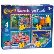 The Clangers Puzzle Pack of 4