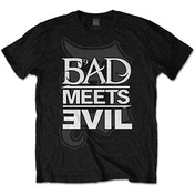Bad Meets Evil - Logo Men's Small T-Shirt - Black