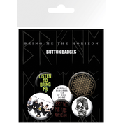 Bring Me The Horizon  Sempiternal Badge Pack
