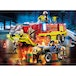 Playmobil City Action Promo Fire Engine With Truck Playset - Image 2