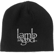 Lamb Of God - Logo Men's Beanie Hat - Black