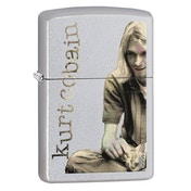 Zippo Kurt Cobain Satin Chrome Regular Lighter