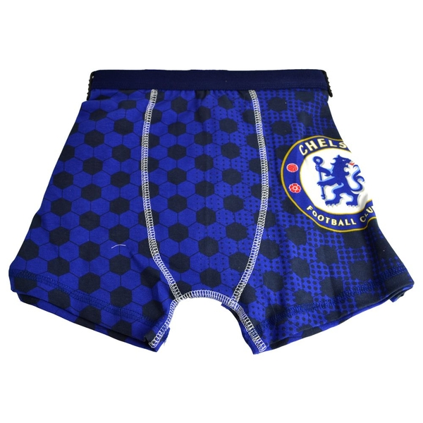 Chelsea Junior Boxer Shorts 4/5 yrs