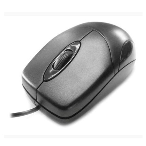 Spire Wired Optical Mouse, USB, 1200 DPI, Black