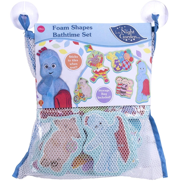 In the Night Garden Large Foam Bath Time Set