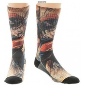 Superman - Sublimated Socks (One size)