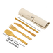 Reusable Bamboo Cutlery Set | M&W - Image 6