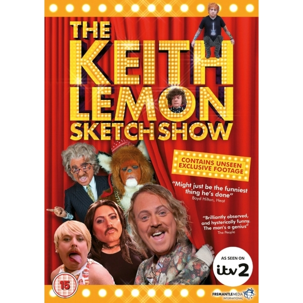 The Keith Lemon Sketch Show Series 1 DVD