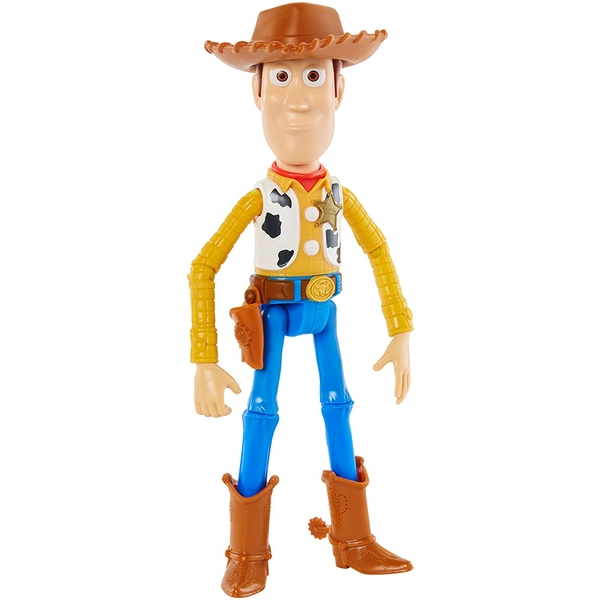 Toy Story 4 - Woody Basic Poseable 18cm Figure