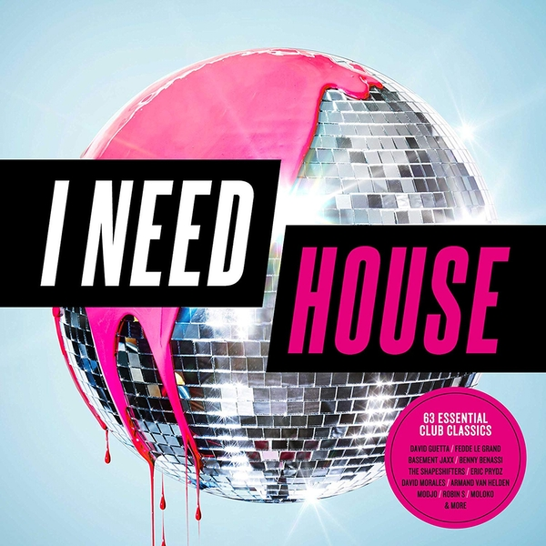 I Need House CD
