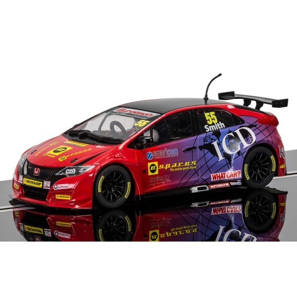 BTCC Honda Civic Type R Jeff Smith 1:32 Scalextric Touring Car