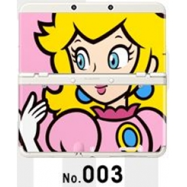 New Nintendo 3DS Cover Plates No 003 Peach Faceplate