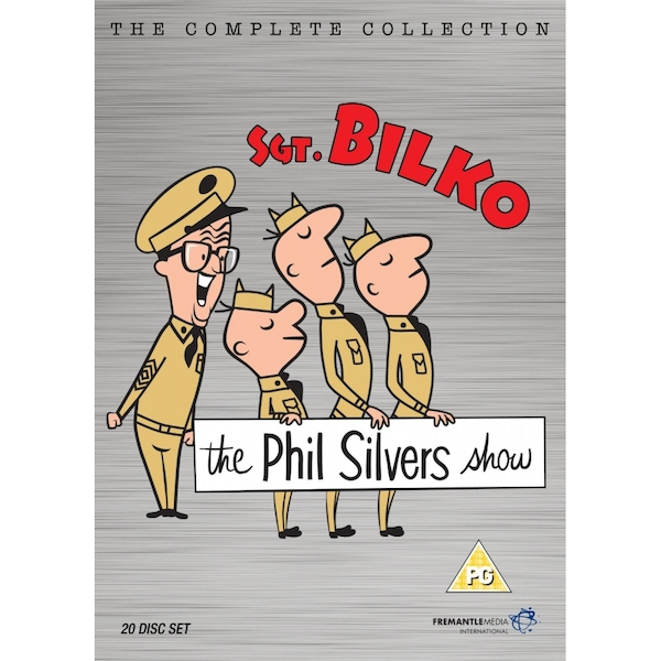 Sgt. Bilko - The Phil Silvers Show - Complete Collection (20 disc set) DVD