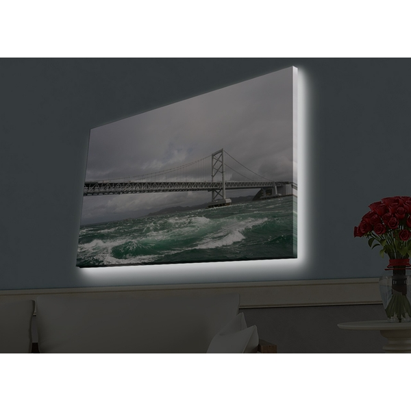 4570HDACT-009 Multicolor Decorative Led Lighted Canvas Painting