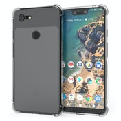CASEFLEX GOOGLE PIXEL 3 XL ALPHA TPU GEL - CLEAR