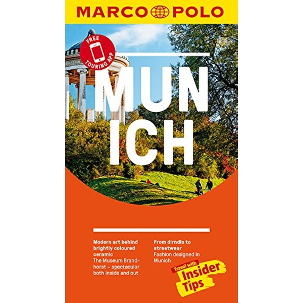 Munich Marco Polo Pocket Travel Guide - with pull out map  Paperback / softback 2018