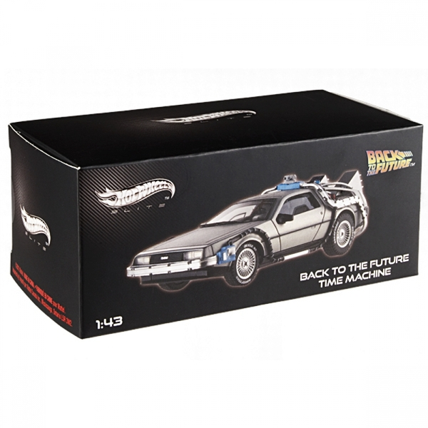 Hot Wheels 1:18 DeLorean Time Machine with Mr Fusion Diecast - Image 6