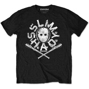 Eminem - Shady Mask Kids 5 - 6 Years T-Shirt - Black