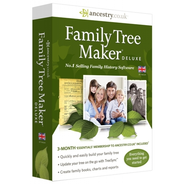 Avanquest Family Tree Maker 2014 Deluxe Edition