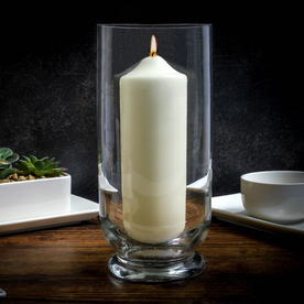 Tall Glass Storm Lantern Candle Holder | M&W