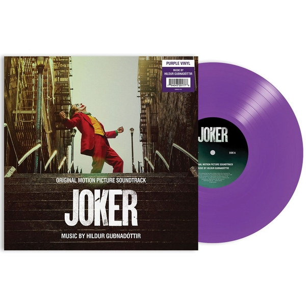 The Joker Original Motion Picture Soundtrack Limited Edition Purple Vinyl