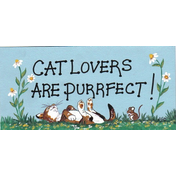 Cat Lovers Are Purrfect Pack Of 12