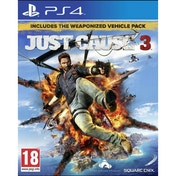 Just Cause 3 Day One Edition PS4 Game (with Capstone Bloodhound DLC)