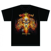 Motorhead Inferno Men's Large T-Shirt - Black